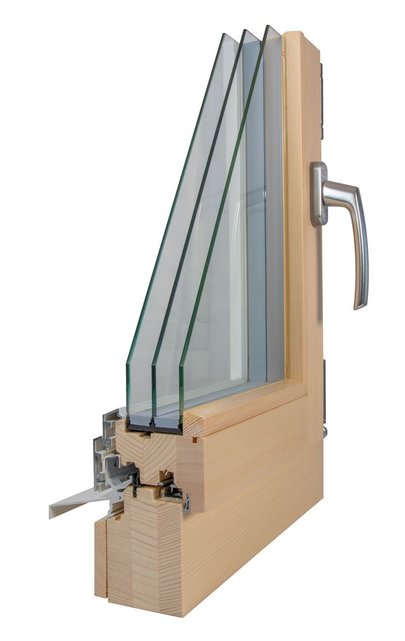 Holz/Metall-Fenster HM 66/76