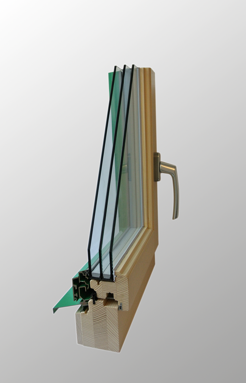 Holz/Metall-Fenster HM 66/65
